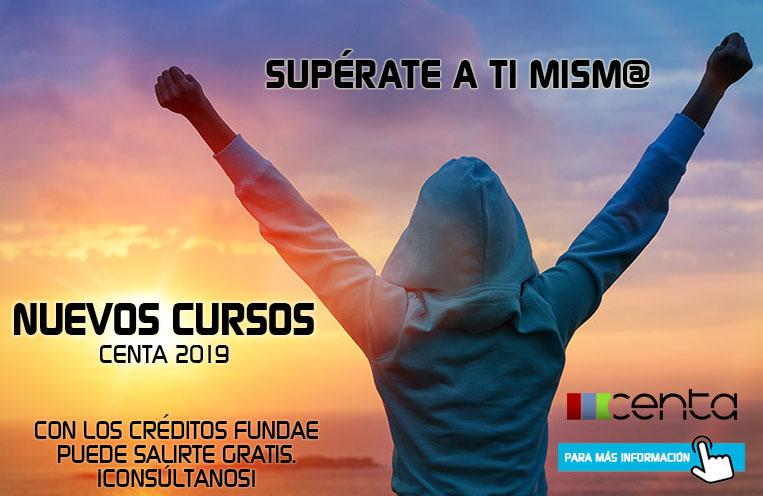 , Nuevos cursos Centa 2019