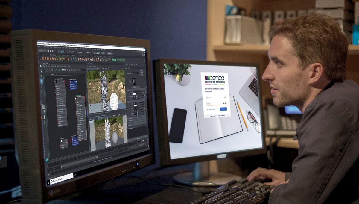 , Nuestro Máster Animación 3D y Efectos Visuales ahora también Online